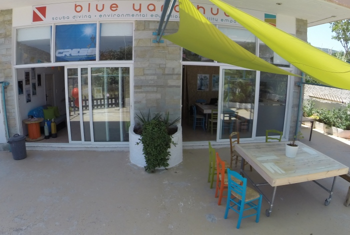 Blue Yard Hub facade