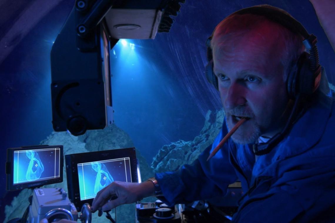 James Cameron at the Challenger Deep