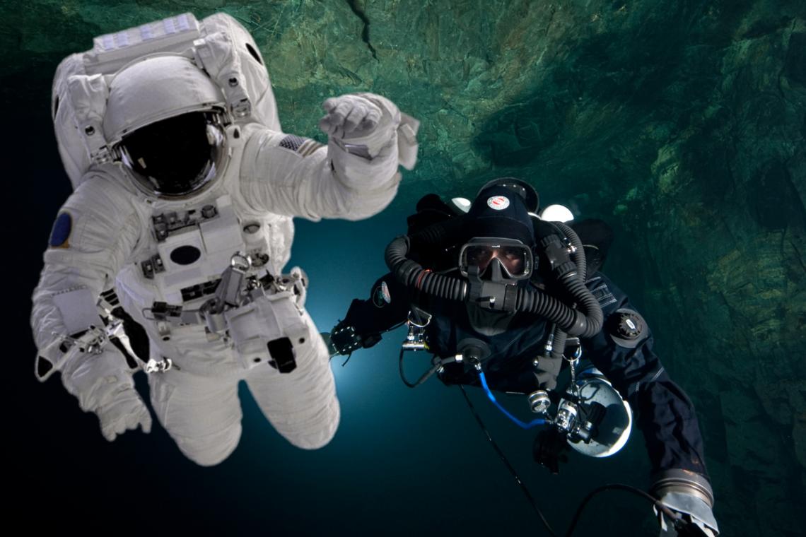 Astronaut & Scuba Diver