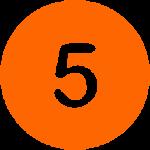 Coral Orange - 5