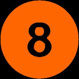 Coral Orange - 8